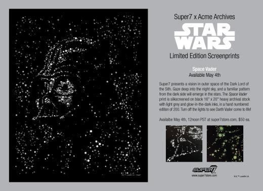 Super7 x Acme Star Wars Prints