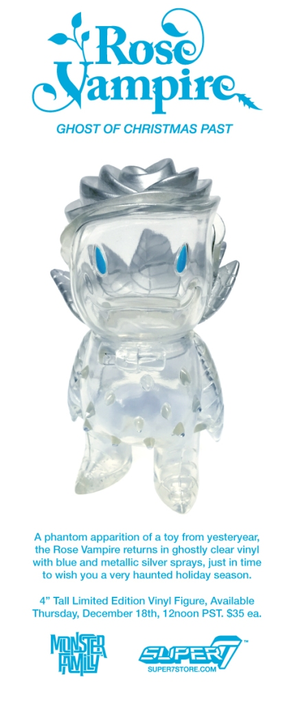 The Ghostly Rose Vampire returns in clear vinyl!
