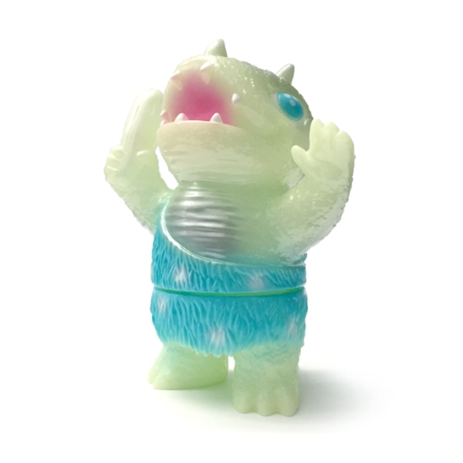 Glow-in-the-Dark Luminous Lizard Caveman Dinosaur!