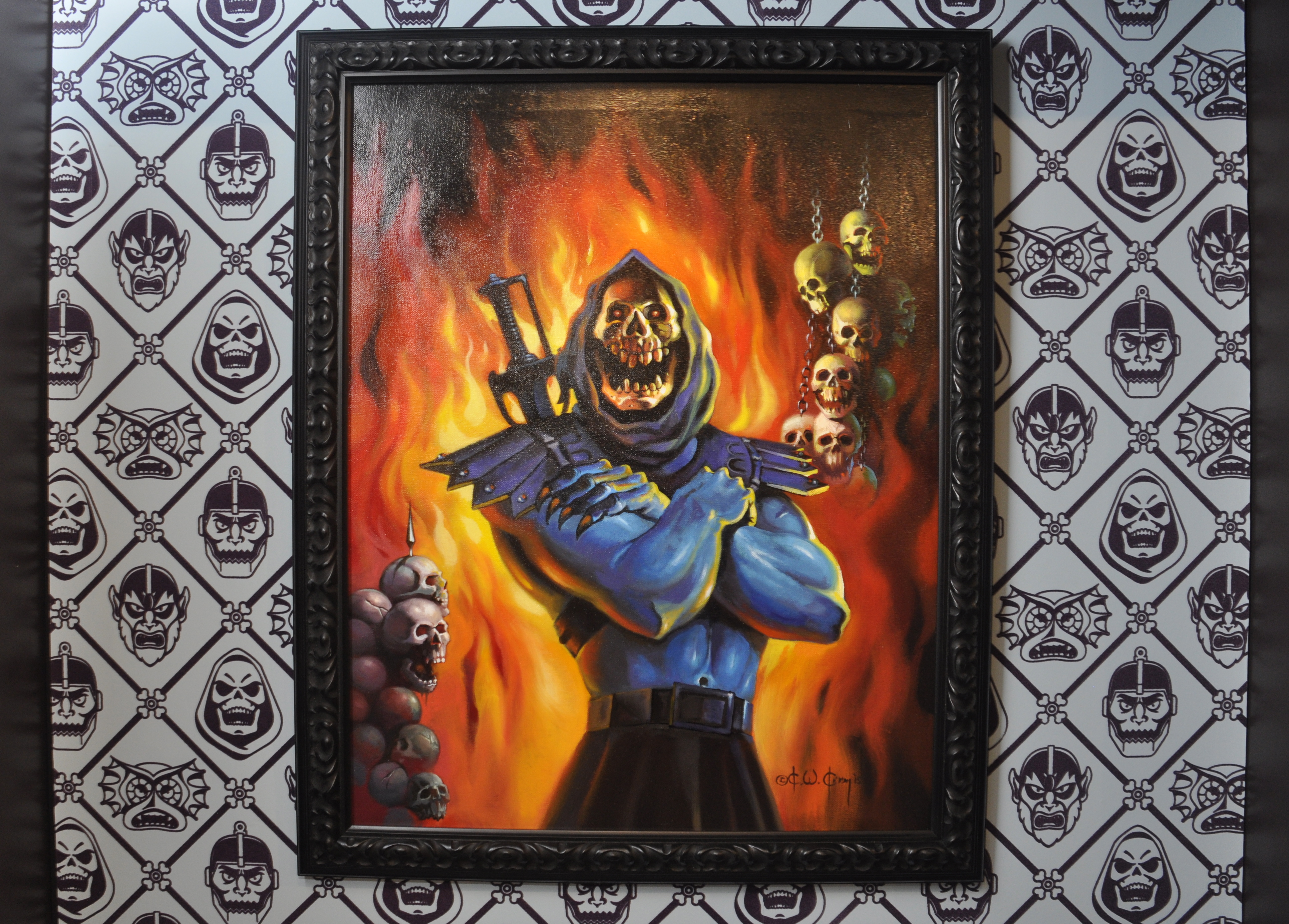 Skeletor Takes Over Super7 San Diego With Skeletor S Lair