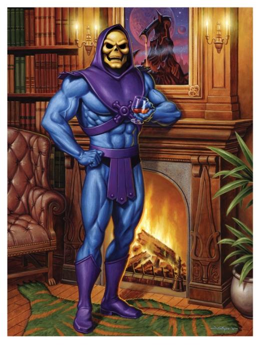 Skeletor's Lair Giclee Print