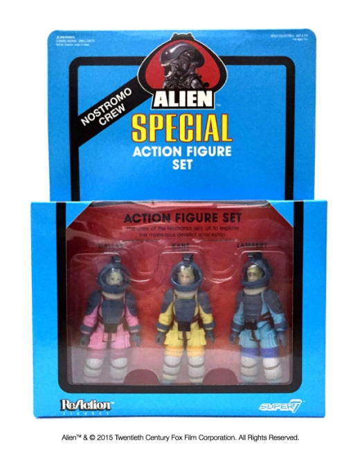 Alien Special Action Figure Set
