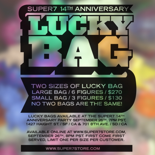 Super7 Lucky Bag 2015